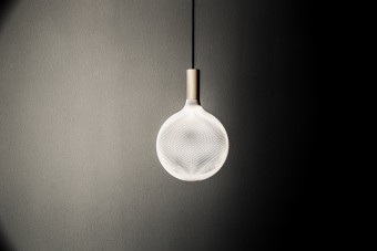 Zambelli's 3D printed lamp is one of the many designs produced by the brand .exnovo