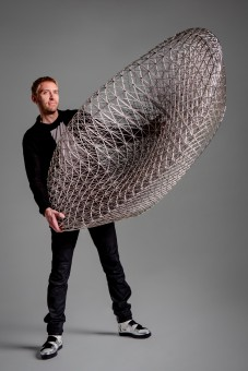 Janne Kyttanen is one of the first top desginer to experient with furniture 3D printing
