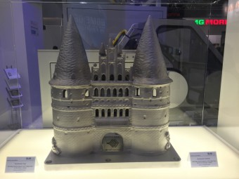 Is this 3D printed castle a rapid prototype or was it additively manufactured?